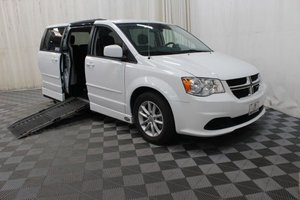 Used Wheelchair Van For Sale: 2015 Dodge Grand Caravan SXT Wheelchair Accessible Van For Sale with a AMS Legend on it. VIN: 2C4RDGCG3FR584972