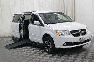 Used Wheelchair Van For Sale: 2017 Dodge Grand Caravan SXT Wheelchair Accessible Van For Sale with a AMS Vans Legend II on it. VIN: 2C4RDGCG3HR761250