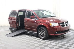 Used Wheelchair Van For Sale: 2017 Dodge Grand Caravan SXT Wheelchair Accessible Van For Sale with a 1 on it. VIN: 2C4RDGCG3HR773656