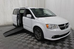 Used Wheelchair Van For Sale: 2017 Dodge Grand Caravan SXT Wheelchair Accessible Van For Sale with a AMS Vans Epic on it. VIN: 2C4RDGCG5HR677219