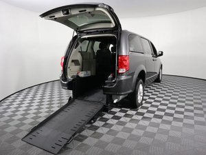 Used Wheelchair Van For Sale: 2018 Dodge Grand Caravan S Wheelchair Accessible Van For Sale with a AMS Vans Edge II on it. VIN: 2C4RDGCG6JR282665