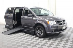 Used Wheelchair Van For Sale: 2017 Dodge Grand Caravan SXT Wheelchair Accessible Van For Sale with a AMS Vans Legend II on it. VIN: 2C4RDGCG7HR724508