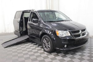 Used Wheelchair Van For Sale: 2017 Dodge Grand Caravan SXT Wheelchair Accessible Van For Sale with a AMS Vans Epic on it. VIN: 2C4RDGCG7HR774504