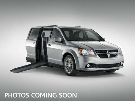 Used Wheelchair Van For Sale: 2018 Dodge Grand Caravan SXT Wheelchair Accessible Van For Sale with a AMS Vans Epic on it. VIN: 2C4RDGCG7JR207974