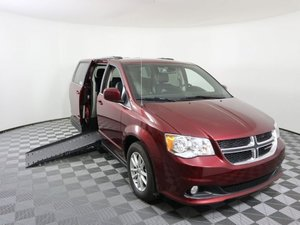 Used Wheelchair Van For Sale: 2019 Dodge Grand Caravan S Wheelchair Accessible Van For Sale with a AMS Vans Epic on it. VIN: 2C4RDGCG7KR556960