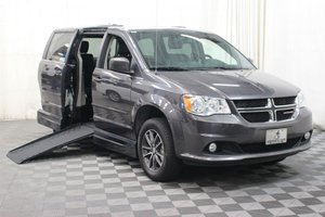 Used Wheelchair Van For Sale: 2017 Dodge Grand Caravan SXT Wheelchair Accessible Van For Sale with a AMS Vans Legend II on it. VIN: 2C4RDGCG8HR574103