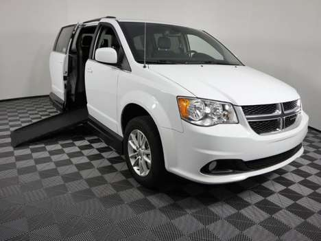 Used Wheelchair Van For Sale: 2018 Dodge Grand Caravan S Wheelchair Accessible Van For Sale with a AMS Vans Legend II D on it. VIN: 2C4RDGCG8JR325547