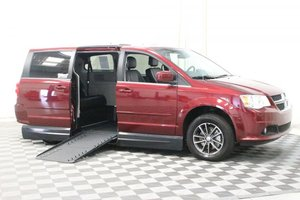 Used Wheelchair Van For Sale: 2017 Dodge Grand Caravan SXT Wheelchair Accessible Van For Sale with a AMS Vans Legend II on it. VIN: 2C4RDGCG9HR749118