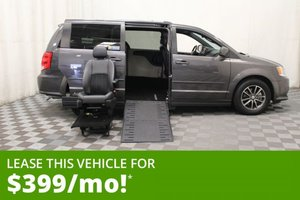 Used Wheelchair Van For Sale: 2017 Dodge Grand Caravan SXT Wheelchair Accessible Van For Sale with a AMS Vans Epic on it. VIN: 2C4RDGCGXHR558470