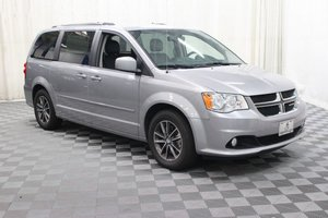 Used Wheelchair Van For Sale: 2017 Dodge Grand Caravan SXT Wheelchair Accessible Van For Sale with a AMS Vans Legend II on it. VIN: 2C4RDGCGXHR760676
