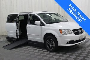 Used Wheelchair Van For Sale: 2017 Dodge Grand Caravan SXT Wheelchair Accessible Van For Sale with a AMS Vans Legend II on it. VIN: 2C4RDGCGXHR800805