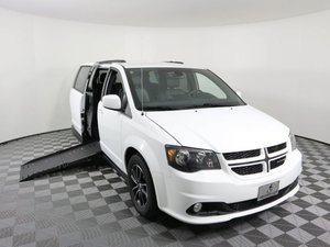 Used Wheelchair Van For Sale: 2019 Dodge Grand Caravan GT Wheelchair Accessible Van For Sale with a AMS Vans Epic on it. VIN: 2C4RDGEG1KR511395