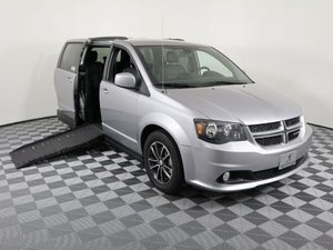 Used Wheelchair Van For Sale: 2018 Dodge Grand Caravan  Wheelchair Accessible Van For Sale with a AMS Vans Epic on it. VIN: 2C4RDGEGXJR283797