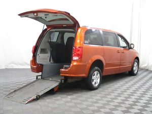 Used Wheelchair Van For Sale: 2011 Dodge Grand Caravan Crew Wheelchair Accessible Van For Sale with a AMS Edge II on it. VIN: 2D4RN5DG8BR669111