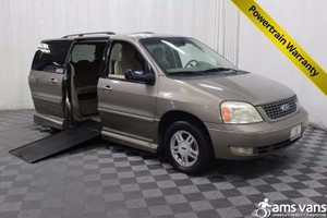 Used Wheelchair Van For Sale 2005 Ford Freestar EL Accessible With