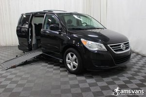 Used Wheelchair Van For Sale: 2009 Volkswagen Routan SE Wheelchair Accessible Van For Sale with a AMS Legend on it. VIN: 2V8HW34199R553842