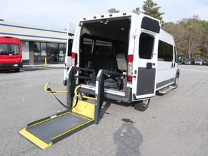 Used Wheelchair Van For Sale: 2015 Ram Promaster  Wheelchair Accessible Van For Sale with a   on it. VIN: 3C6TRVPGXFE500936