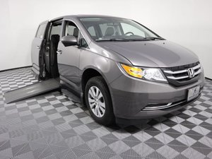 Used Wheelchair Van For Sale: 2014 Honda Odyssey L Wheelchair Accessible Van For Sale with a VMI Northstar on it. VIN: 5FNRL5H60EB023548