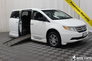 Used Wheelchair Van For Sale: 2011 Honda Odyssey EX-L Wheelchair Accessible Van For Sale with a Braun XT on it. VIN: 5FNRL5H61BB083222