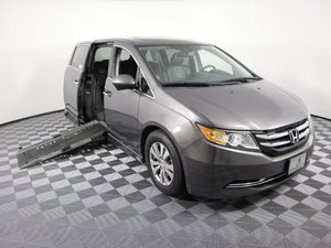 Used Wheelchair Van For Sale: 2014 Honda Odyssey L Wheelchair Accessible Van For Sale with a AMS Legend H on it. VIN: 5FNRL5H67EB004821