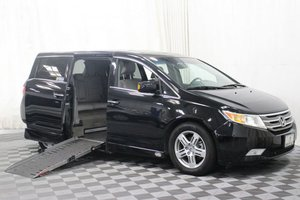 Used Wheelchair Van For Sale: 2013 Honda Odyssey Touring Wheelchair Accessible Van For Sale with a AMS Legend H on it. VIN: 5FNRL5H96DB041366