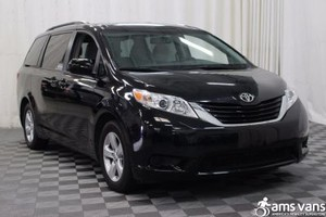 New Wheelchair Van For Sale: 2015 Toyota Sienna LE Wheelchair Accessible Van For Sale with a Able2Go Genesis on it. VIN: 5TDKK3DC1FS611931