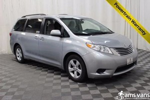 New Wheelchair Van For Sale: 2015 Toyota Sienna LE Wheelchair Accessible Van For Sale with a Able2Go Genesis on it. VIN: 5TDKK3DC3FS621117