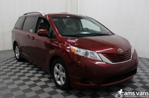 New Wheelchair Van For Sale: 2015 Toyota Sienna LE Wheelchair Accessible Van For Sale with a Able2Go Genesis on it. VIN: 5TDKK3DC7FS564811