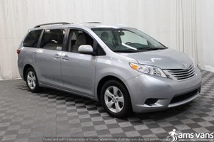 New Wheelchair Van For Sale: 2015 Toyota Sienna LE Wheelchair Accessible Van For Sale with a Able2Go Genesis on it. VIN: 5TDKK3DC9FS653425