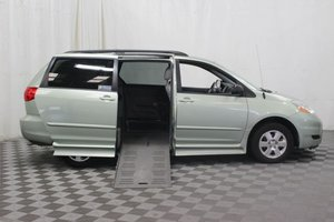 Used Wheelchair Van For Sale: 2010 Toyota Sienna LE Wheelchair Accessible Van For Sale with a Braun Rampvan on it. VIN: 5TDKK4CC1AS296872