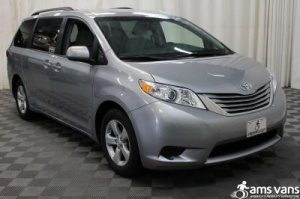 New Wheelchair Van For Sale: 2017 Toyota Sienna LE Wheelchair Accessible Van For Sale with a Able2Go Genesis on it. VIN: 5TDKZ3DC1HS816440