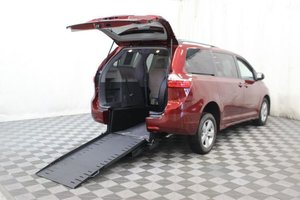 Used Wheelchair Van For Sale: 2018 Toyota Sienna L Wheelchair Accessible Van For Sale with a AMS Vans Exodus on it. VIN: 5TDKZ3DC1JS906189
