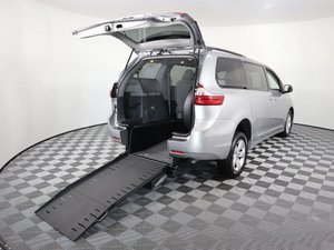 Used Wheelchair Van For Sale: 2018 Toyota Sienna LE Wheelchair Accessible Van For Sale with a AMS Vans Exodus on it. VIN: 5TDKZ3DC5JS904817