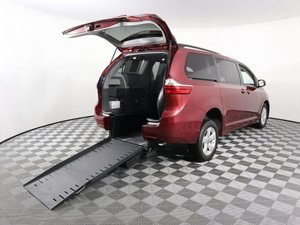 Used Wheelchair Van For Sale: 2018 Toyota Sienna S Wheelchair Accessible Van For Sale with a AMS Vans Exodus on it. VIN: 5TDKZ3DC5JS909578