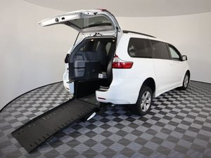 Used Wheelchair Van For Sale: 2018 Toyota Sienna LE Wheelchair Accessible Van For Sale with a AMS Vans Exodus on it. VIN: 5TDKZ3DC6JS902090