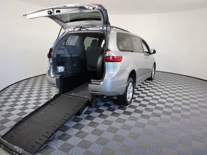 Used Wheelchair Van For Sale: 2018 Toyota Sienna LE Wheelchair Accessible Van For Sale with a AMS Vans Exodus on it. VIN: 5TDKZ3DC6JS909041
