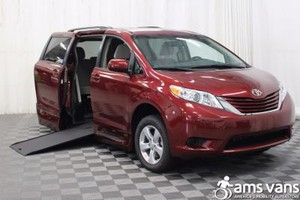 New Wheelchair Van For Sale: 2017 Toyota Sienna LE Wheelchair Accessible Van For Sale with a Able2Go Genesis on it. VIN: 5TDKZ3DC7HS857073