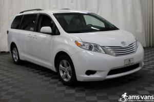 New Wheelchair Van For Sale: 2017 Toyota Sienna LE Wheelchair Accessible Van For Sale with a Able2Go Genesis on it. VIN: 5TDKZ3DC8HS795750