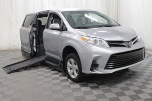 Used Wheelchair Van For Sale: 2018 Toyota Sienna LE Wheelchair Accessible Van For Sale with a AMS Vans Legend II T on it. VIN: 5TDKZ3DC9JS902102