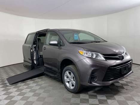 Used Wheelchair Van For Sale: 2019 Toyota Sienna LE Wheelchair Accessible Van For Sale with a AMS Vans Galaxy on it. VIN: 5TDKZ3DC9KS002785