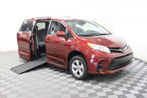 New Wheelchair Van For Sale: 2018 Toyota Sienna LE Wheelchair Accessible Van For Sale with a AMS Vans Genesis on it. VIN: 5TDKZ3DCXJS954015
