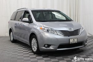 Used Wheelchair Van For Sale: 2015 Toyota Sienna XLE Wheelchair Accessible Van For Sale with a AMS Vans Genesis on it. VIN: 5TDYK3DC1FS550638