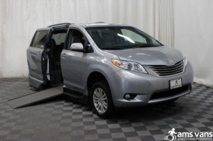 Used Wheelchair Van For Sale: 2015 Toyota Sienna XLE Wheelchair Accessible Van For Sale with a VMI Northstar on it. VIN: 5TDYK3DC7FS646208