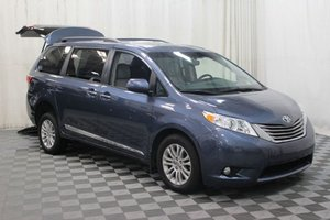 Used Wheelchair Van For Sale: 2016 Toyota Sienna XLE Wheelchair Accessible Van For Sale with a AMS Vans Exodus on it. VIN: 5TDYK3DC9GS702196