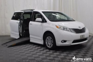 Used Wheelchair Van For Sale: 2011 Toyota Sienna XLE Wheelchair Accessible Van For Sale with a Braun Entervan on it. VIN: 5TDYK3DCXBS029718