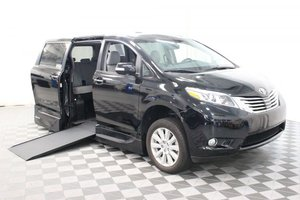 Used Wheelchair Van For Sale: 2017 Toyota Sienna Limited Wheelchair Accessible Van For Sale with a VMI Northstar on it. VIN: 5TDYZ3DC2HS842524