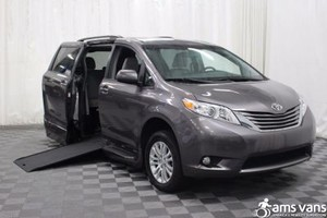 New Wheelchair Van For Sale: 2017 Toyota Sienna XLE Wheelchair Accessible Van For Sale with a Able2Go Genesis on it. VIN: 5TDYZ3DC5HS849077