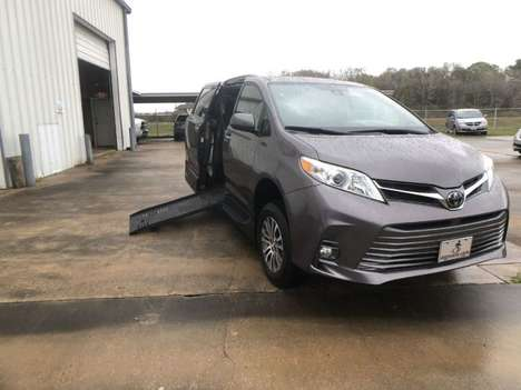 Used Wheelchair Van For Sale: 2019 Toyota Sienna L Wheelchair Accessible Van For Sale with a AMS Vans Legend II T on it. VIN: 5TDYZ3DC7KS005355