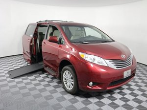 Used Wheelchair Van For Sale: 2017 Toyota Sienna XLE Wheelchair Accessible Van For Sale with a AMS Vans Genesis on it. VIN: 5TDYZ3DC9HS871986