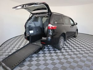 Used Wheelchair Van For Sale: 2018 Toyota Sienna XLE Wheelchair Accessible Van For Sale with a AMS Vans Exodus on it. VIN: 5TDYZ3DC9JS934459